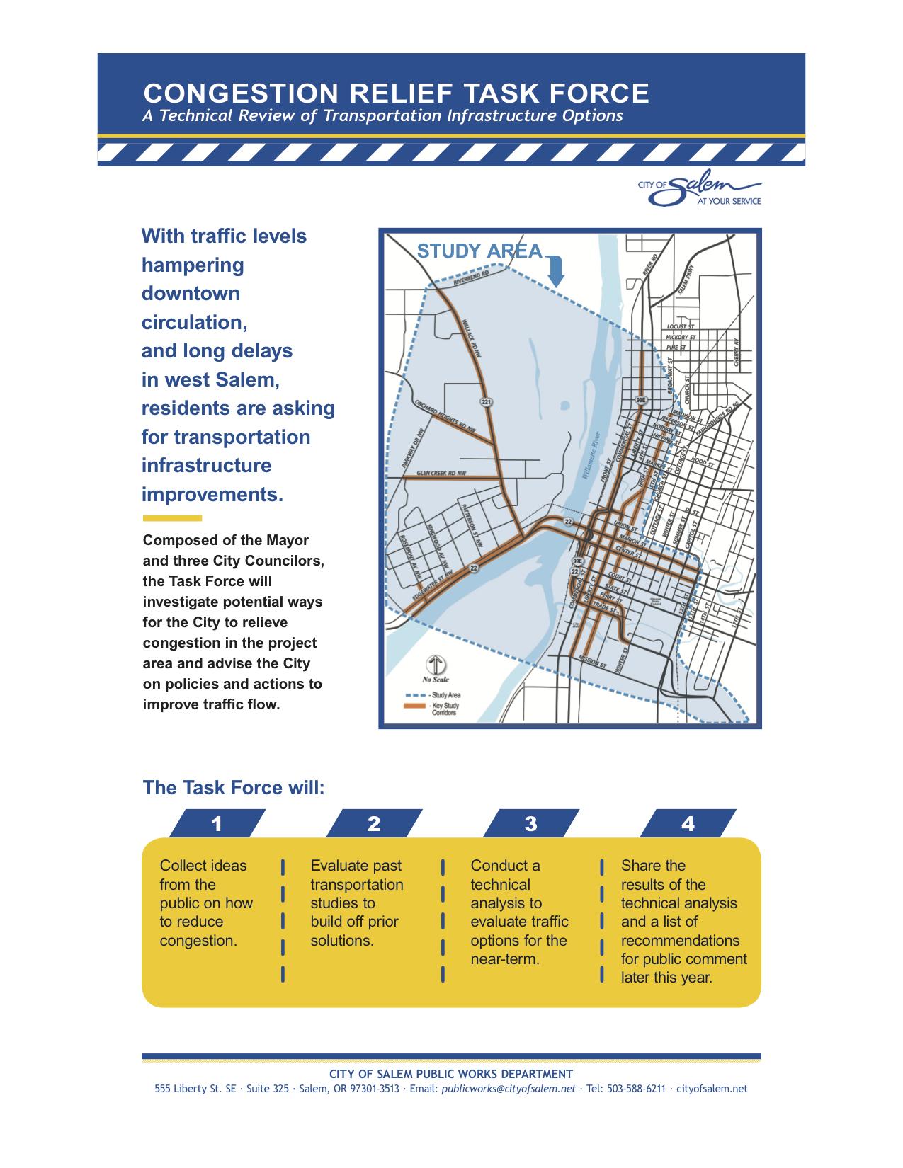 Congestion Relief TF Project Description